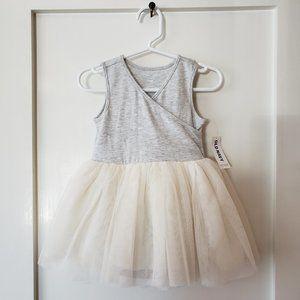 Old Navy Cream Tutu Dress (6-12 months) NWT